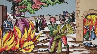 Raganų deginimas